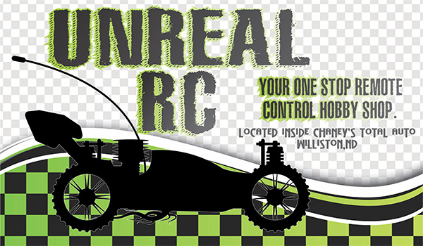 logo with Remote Control car image
